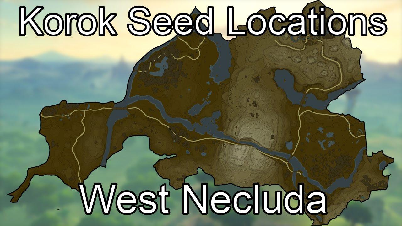 Korok Seed Guide - West Necluda