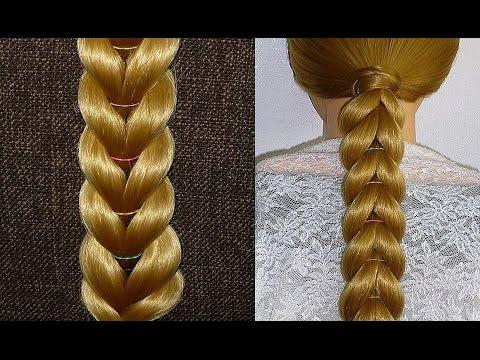 everyday-braid-hairstyle-with-elastics-for-girls,kids-for-medium&long-hair-tutorial.penteados