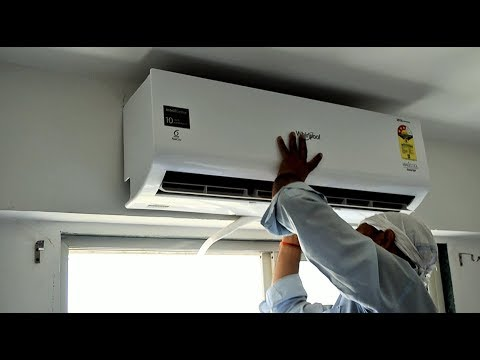 Whirlpool 1.5 Ton Inverter Split AC Live Installation Process Complete Live Demo in HINDI