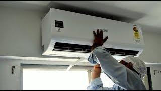 Whirlpool 1.5 Ton Inverter Split AC Live Installation Process Complete Live Demo in HINDI