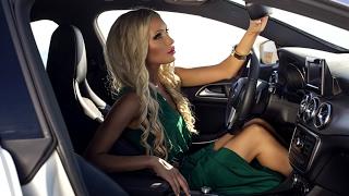 Mercedesle Drift Yapan Kadın Şöför- 2017