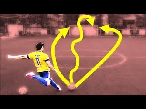 Học Bóng Đá - [Vietsub] Cách Sút Phạt LẮC LƯ Kiểu C. Ronaldo, G. Bale - Knuckleball Tutorial