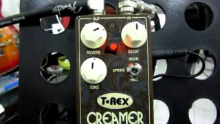 T-Rex Engineering Creamer 3 Mode Reverb Guitar Effects Pedal