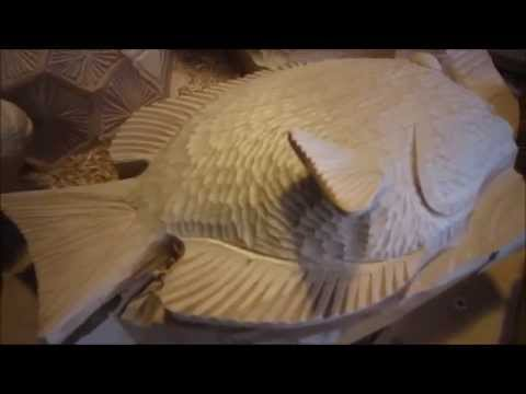 Fish Carving Time Lapse