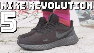 NIKE REVOLUTION 5 - On feet, comfort, weight, breathability and price review