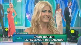 Candela Ruggeri le apuntó a una integrante del jurado