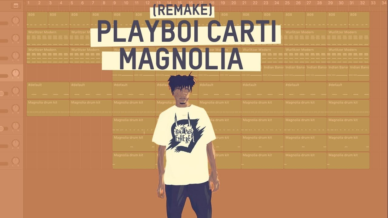 Making a Beat: Playboi Carti – Magnolia (Remake)