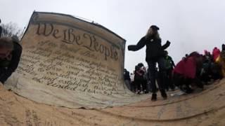 360 video: Women's March on Washington