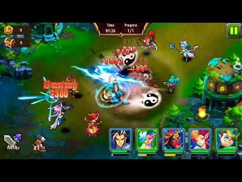 Magic rush heros island crusade level 7