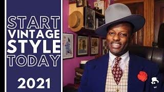 Starting A Vintage Style Wardrobe (Men 2021)