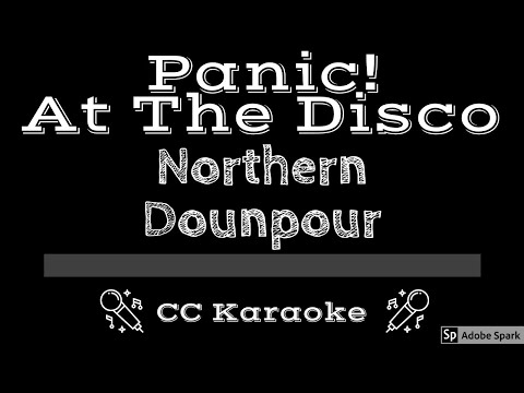 panic-at-the-disco-•-northern-downpour-(cc)-[karaoke-instrumental-lyrics]