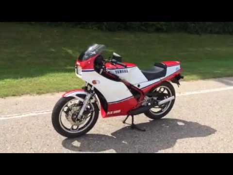 1985 yamaha rz 350 for sale sold youtube for Yamaha rz for sale