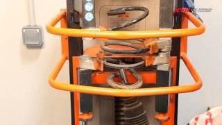RENAULT Clio III, Clio III Grandtour - FRONT - Передние амортизаторы KYB установка