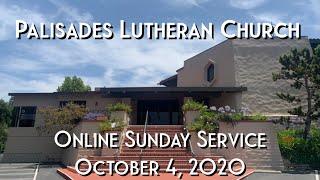 PLC Online Sunday Service 10.4.20