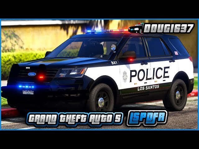 GTAV-LSPDFR 0 4 1   Day-391   AI cops are so dumb