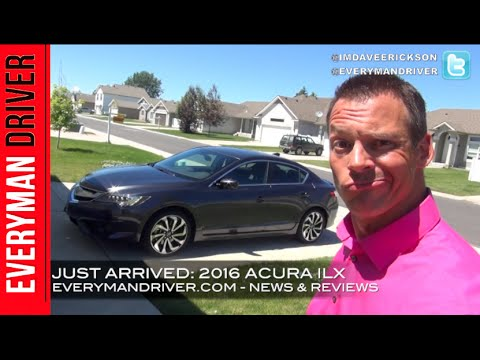 Just Arrived: 2016 Acura ILX On Everyman Driver