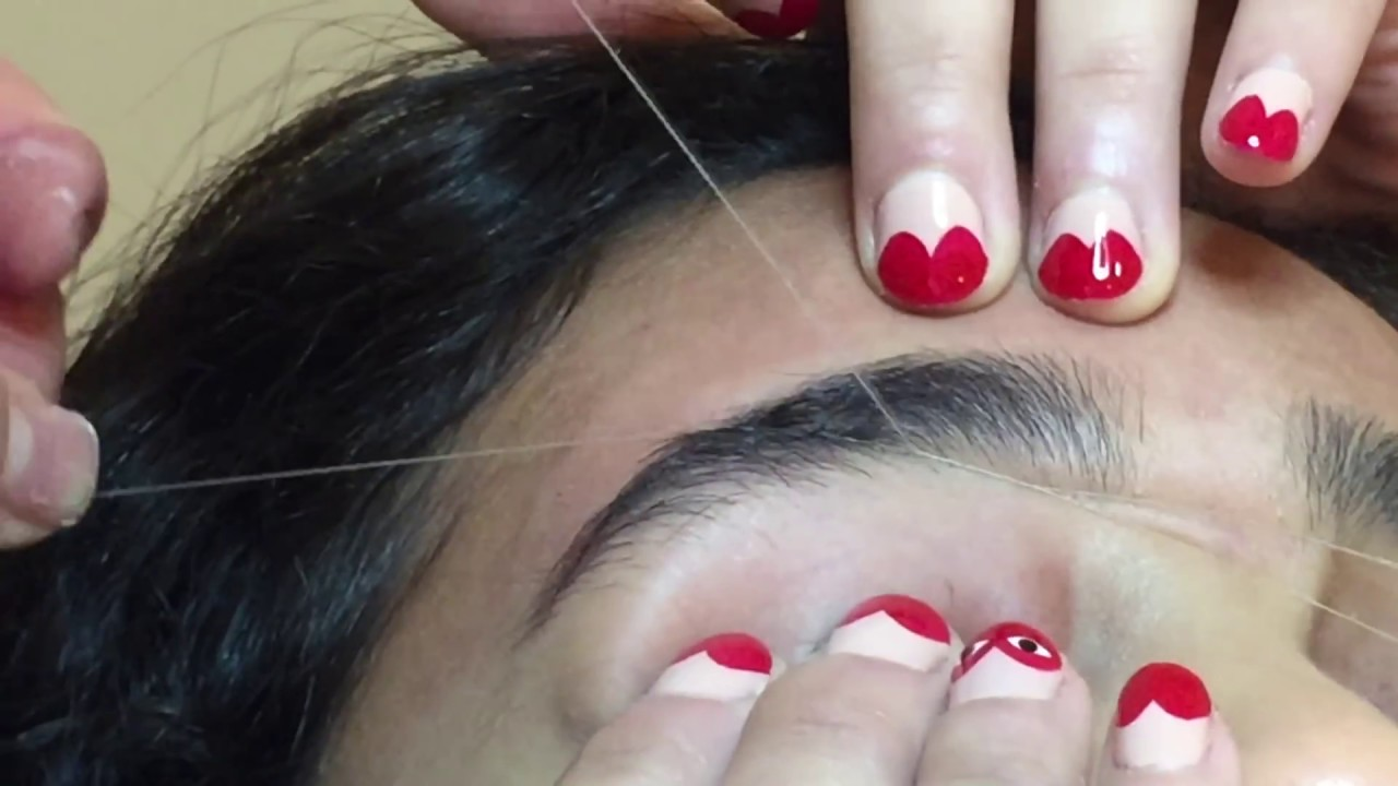 Review Eyebrow Threading Class Available In February Youtube