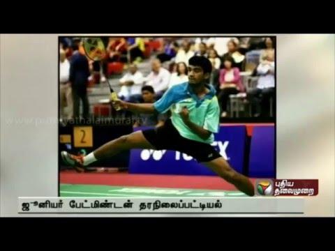 India's Siril Verma tops junior badminton rankings