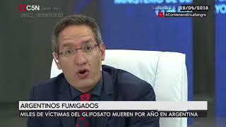 Tomas Mendez  #ConVenenoEnLaSangre (Argentinos fumigados) 29 -04- 2018 C5N