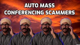 CALL FLOODING & MASS Conferencing IRS Scammers! thumbnail