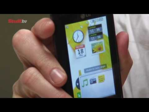 LG KP500 Cookie touchscreen phone - Stuff.tv