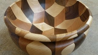Repeat youtube video Woodturning -  Tumbling Bowl