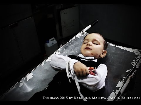 Little Sasha (4 years) from #Donetsk died by the bombs
