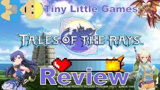 Tales of the Rays Android Game Review (Action RPG)