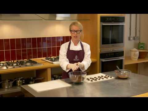 How to make chocolate truffles - The School of Artisan Food