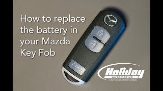 How to Replace the Battery in Your Mazda Key Fob