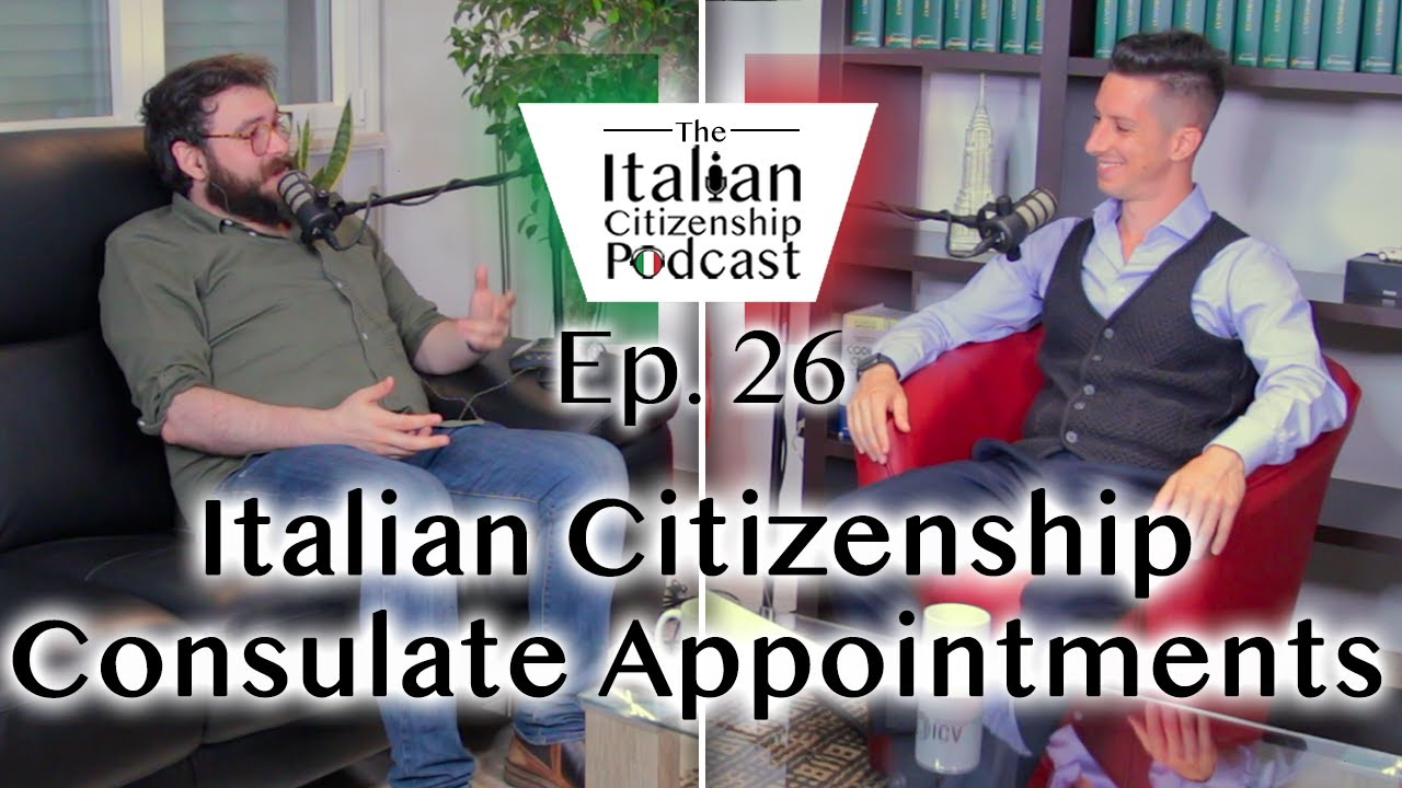 Italian Citizenship by Descent (Jure Sanguinis) Consulate Appointments