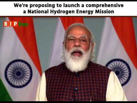 We are proposing to launch a comprehensive National Hydrogen Energy Mission: PM Modi