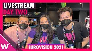 Eurovision 2021 Rehearsals livestream Day 2 (Semi-Final 1 Israel to Malta)