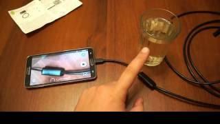 Специальная видеокамера для подглядывания под юбкой и в туалете