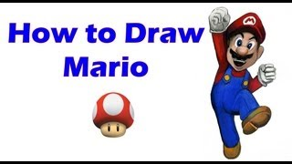 How to Draw Mario w/ Step by Step