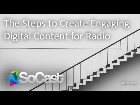 Webinar Recording - The Steps to Create Engaging Digital Content for Radio