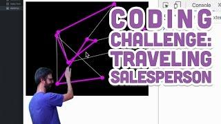 Coding Challenge #35.1: Traveling Salesperson