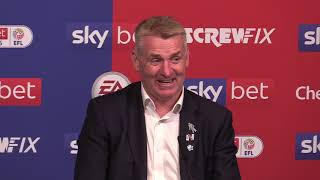 Aston Villa 2-1 Derby - Dean Smith Full Post Match Press Conference - Championship Play-Off Final