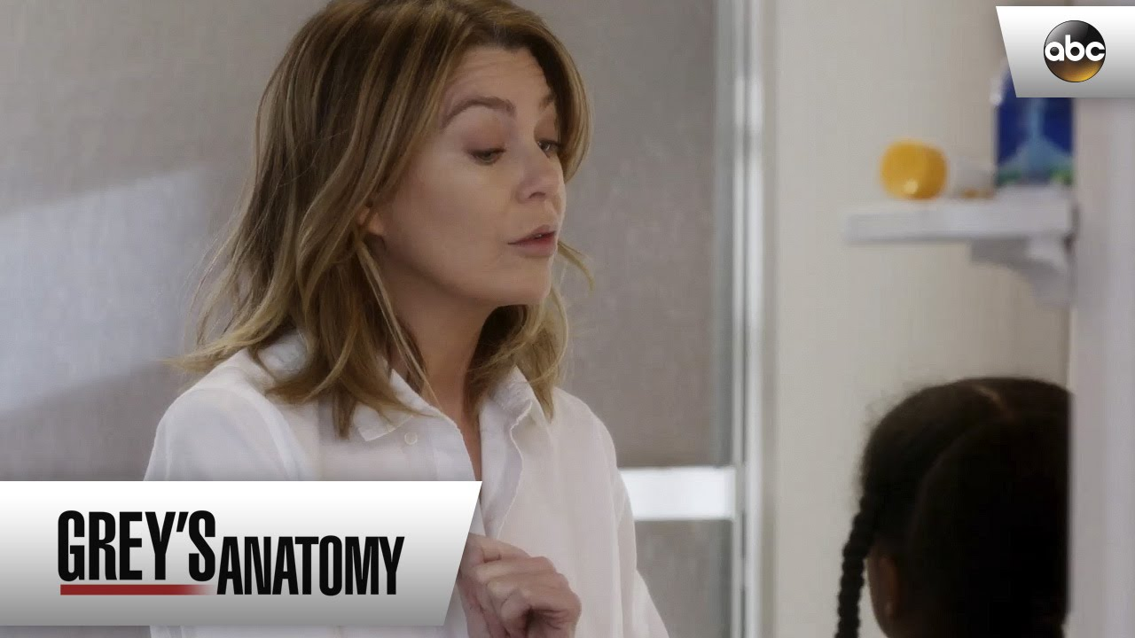 Meredith Maggie And Amelia Get The Kids Ready For School Greys