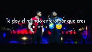 Estados Para WhatsApp 👌 Reggaeton Lento Remix - Cnco ft. Zion & Lennox