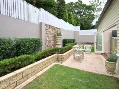 Garden walls decorating ideas - YouTube