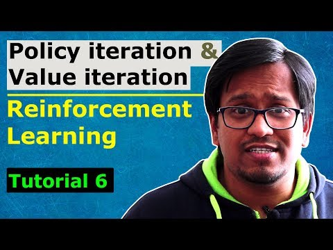 RL 6: Policy iteration and value iteration - Reinforcement learning