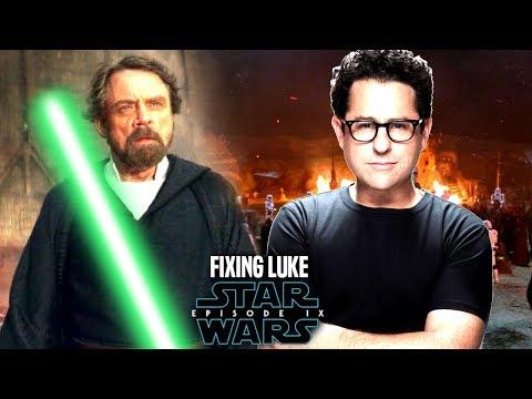 Star Wars! JJ Abrams Fixing Luke In Episode 9! New Details & More