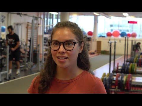 Catherine Beauchemin: Étudiante-athlète qui se démarque sur le plan scolaire et sportif
