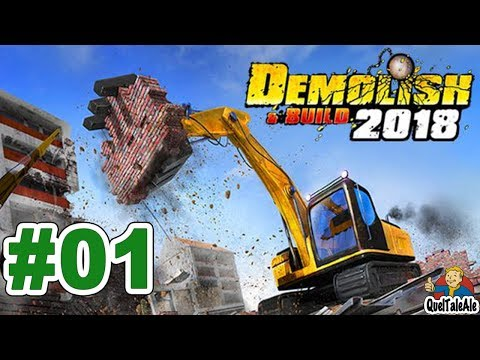 Demolish & Build 2018 - Gameplay ITA - Let's Play #01 - Imprese sportiveggianti