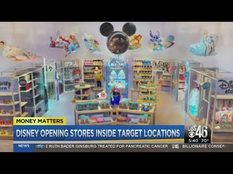 Evelyn Erives - Disney to Launch 25 Stores Inside Target Nationwide on October 4th