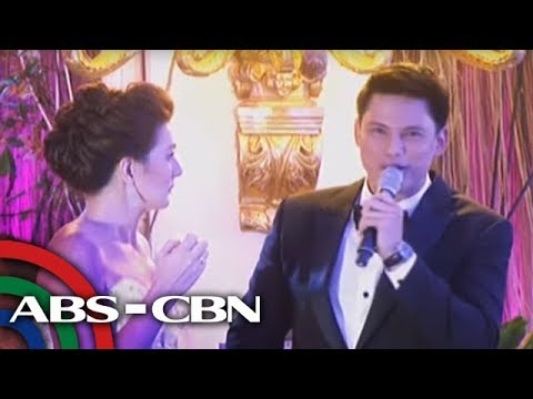 Zoren-Carmina wedding: Zoren proposes