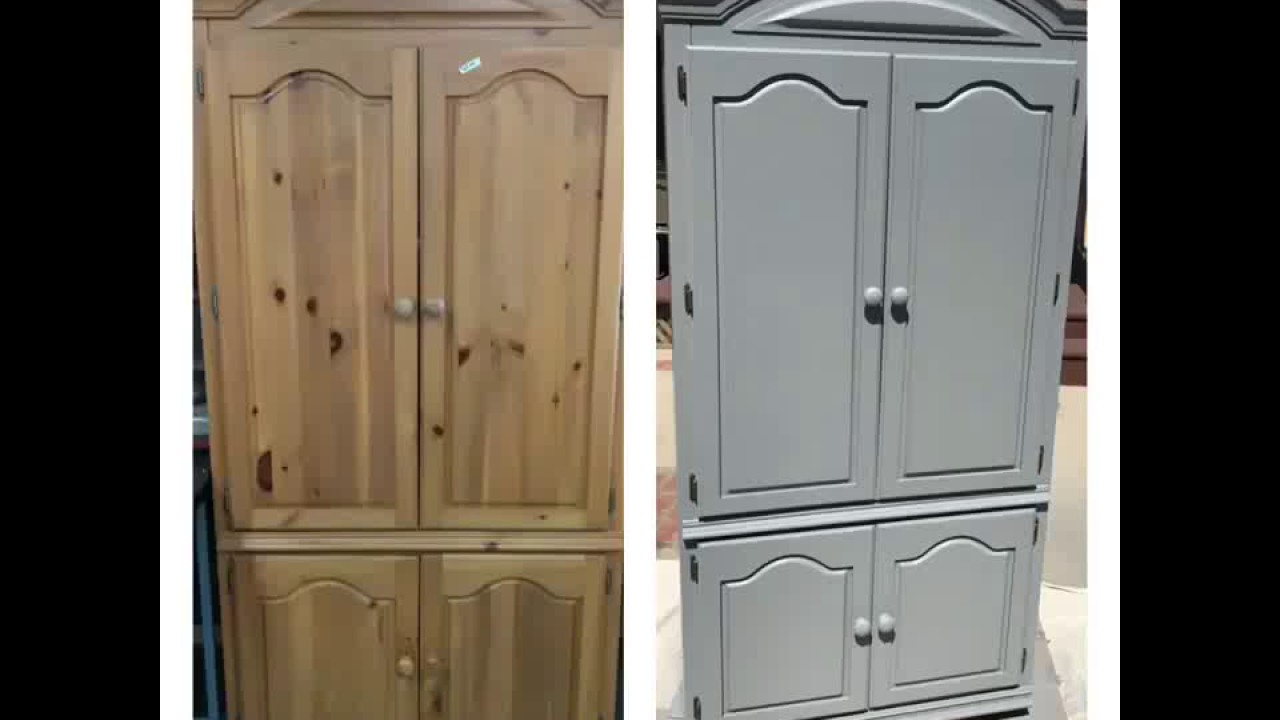 Bon Refurbished Wardrobe Armoire For Less Than $100