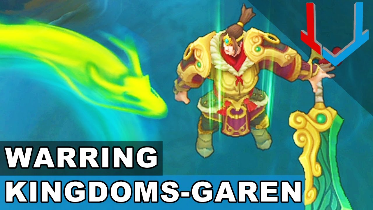 Warring Kingdoms Garen Skin Spotlight (League of Legends