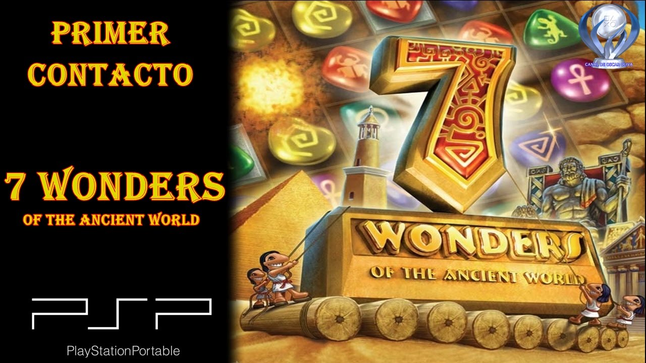 7 wonders of the ancient world ppsspp android/pc/ios full +enlace.